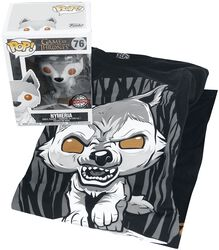 Nymeria T-Shirt plus Funko - Fan-Paket