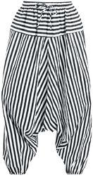 Haremshose mit Streifen
