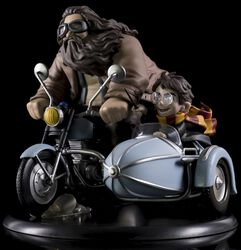 Q-Figur MAX (Diorama) Harry Potter and Rubeus Hagrid