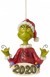 Grinch 2020 Weihnachtskugel