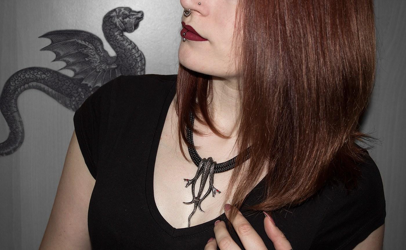 Hydra Halskette Alchemy Gothic