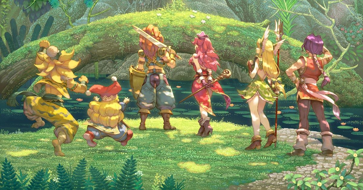 Trials of Mana ist ab sofort verfügbar.